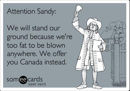 ATTENTION Sandy