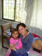 Jimena y su hija