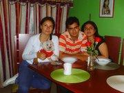Mónica,Felipe y Jimena