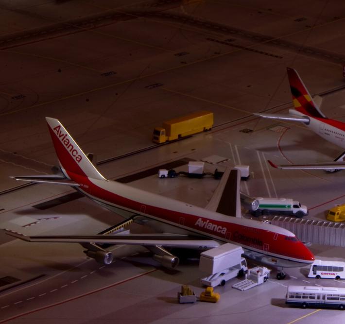 AC Avianca B747-200