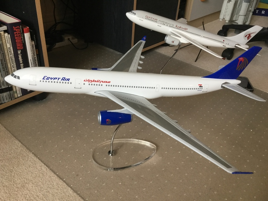 Egyptair A330 Graphideco