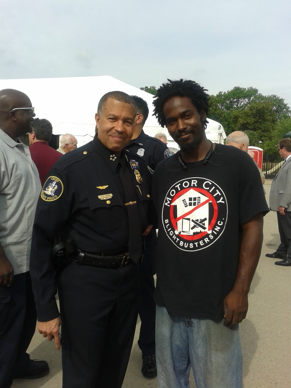 Me and Chief Craig