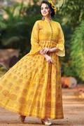 Amazing Collection of Long Kurtis Online At Mirraw