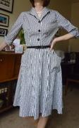 Advance 7968 1950s Dress