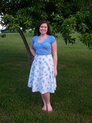 Periwinkle Skies Skirt