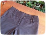 Brown pants and cardigan