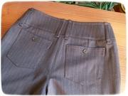 Brown pants details 6