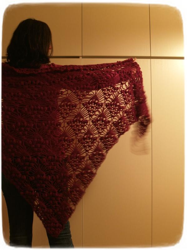 Purple  shawl 1