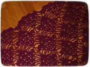 Purple shawl 2