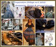 Inspiration collage accessories peasants & rococo