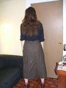 Steampunk Skirt back