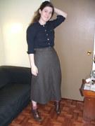 Steampunk Skirt front