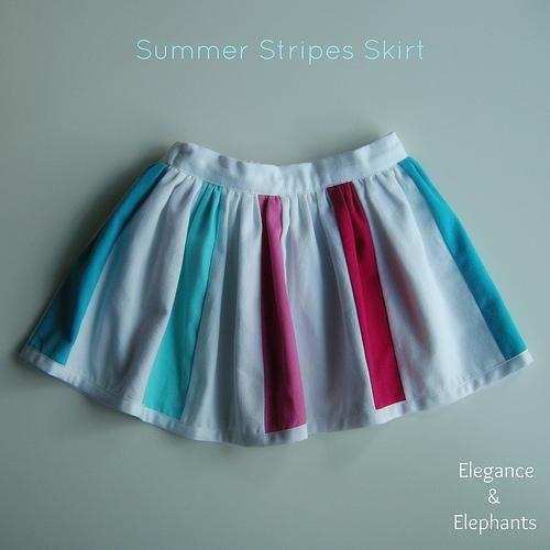 Summer Stripes Skirt