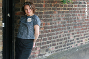 Lady Grey retro top