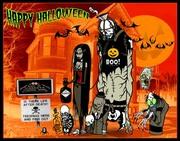 fiends  halloween - toxictoons