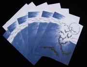 Winged Fury (Midnight Syndicate/Halloween inspired) 6 pc. Blank Note Card Set with Envelopes