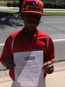 Irvin with his NTIS letter..