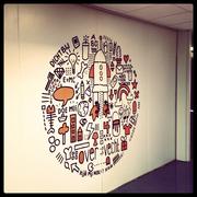 Doodles Mural