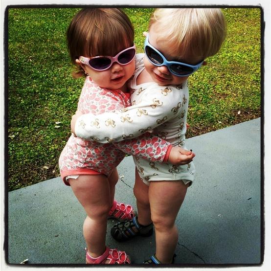 Sisterly love!