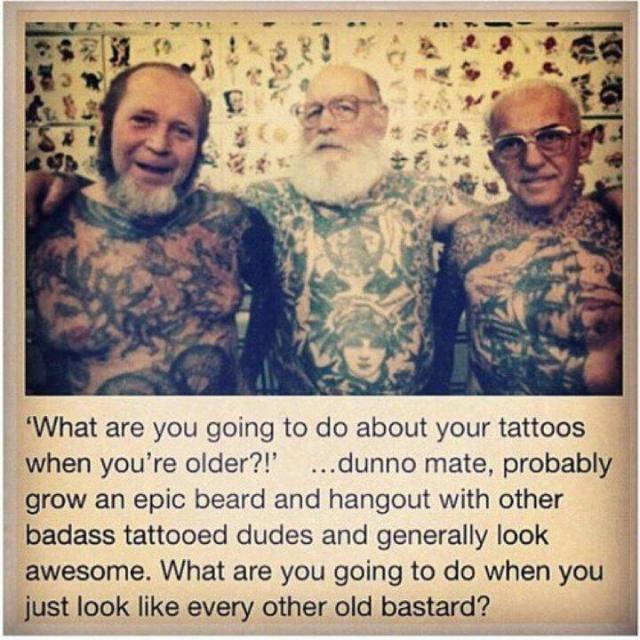 What are you going to do when you get older??