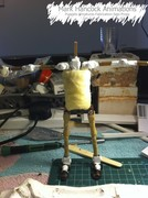 armature ready for moulding