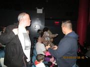 At the screening
