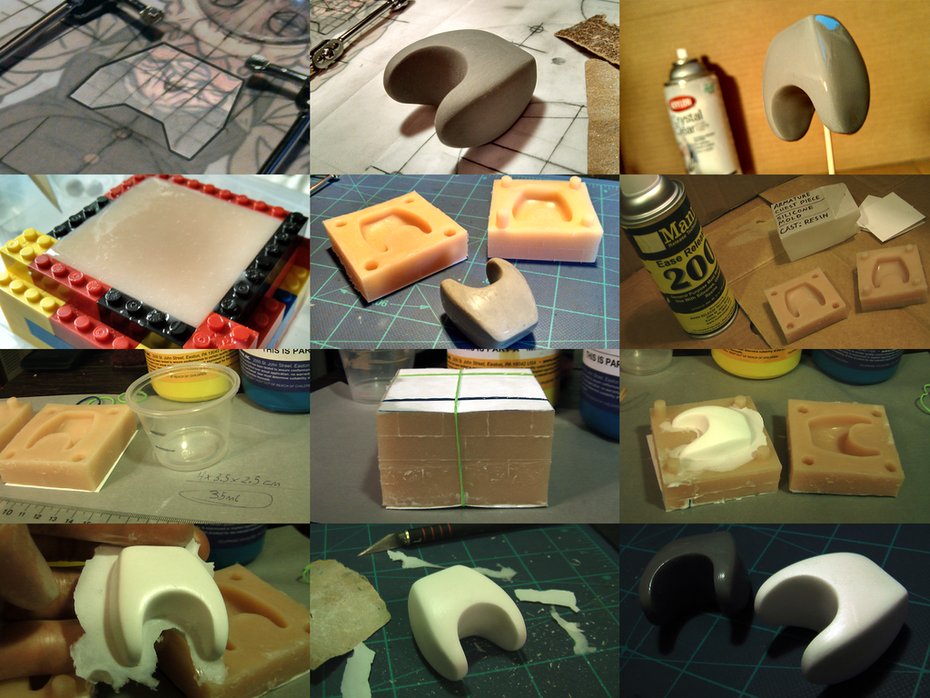 """""""Will"""" Chest Piece Sculpt and Resin Casting"""