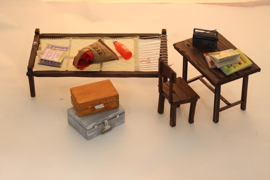 miniature props
