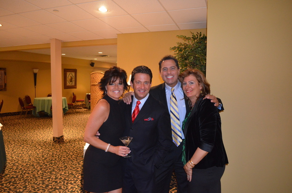 With Lisa Rini, ABC Meteorologist, Bill Evans and ABC Anchor, Ken Rosato