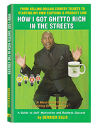 Comedian/Entrepreneur/Author: Derrick Ellis New Self-Help Book
