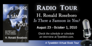 Is There A Samson In You? Radio Tour
