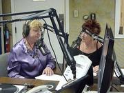"Rachel Madorsky on the ""Laura Dion-Jones"" radio talk show WRMN1410."