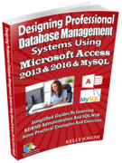 Microsoft Access 2013, 2016 and MySQL