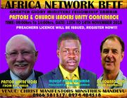 National Pastors & Leaders Unity Conference - Zambia