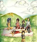 Comission: A Choco picnic