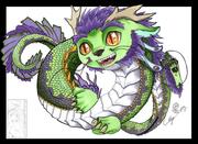 Chibiface dragon