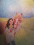 Tjej och häst ;D