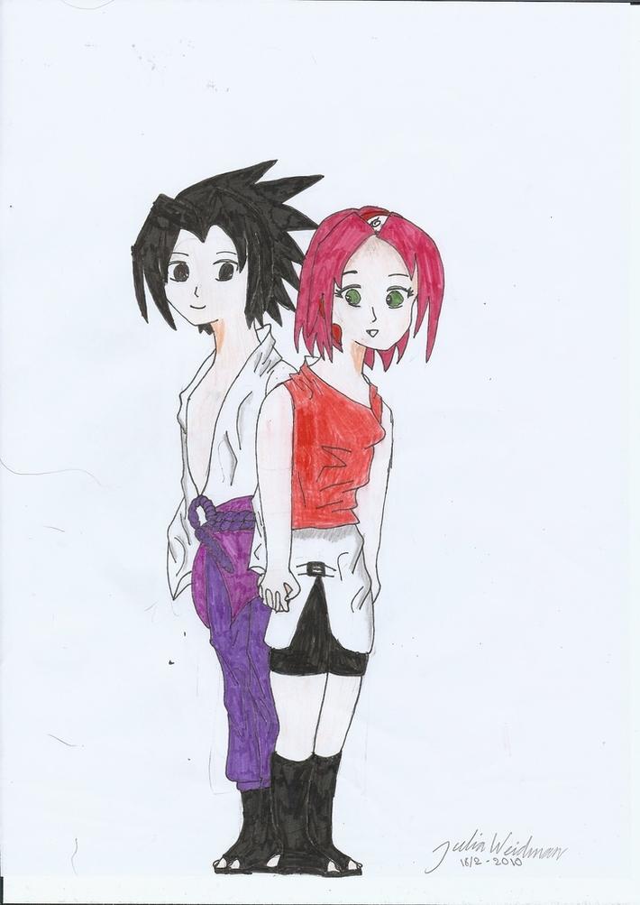SasuSaku together
