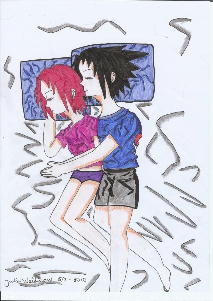 SasuSaku sleep