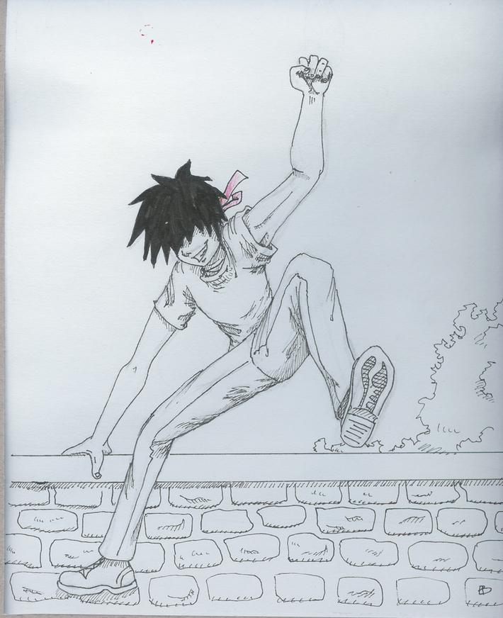 Hoppa över mur