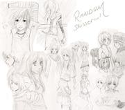 Random skisser