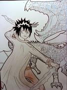 Ice dragon boy