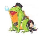 my frog and me