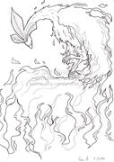Phoenix- lineart