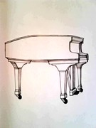 Vit piano