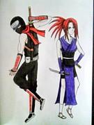 The two Ninjas