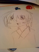 en chibi  bild jag har ritat