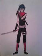Manga colour Ninja