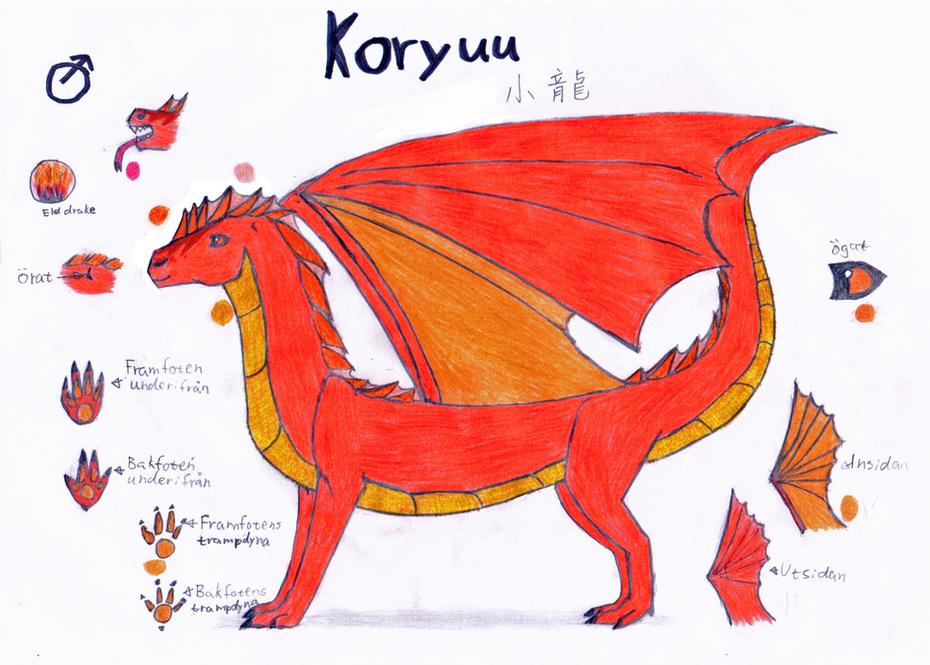 drak karaktär--Koryuu