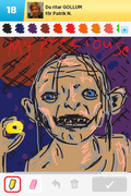 Gollum, draw something